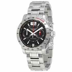 Longines L3.670.4.59.6 Admiral Mens Chronograph Automatic Watch