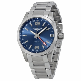 Longines L3.687.4.99.6 Conquest Mens Automatic Watch