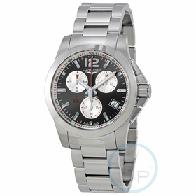 Longines L3.700.4.79.6 Conquest Mens Chronograph Quartz Watch