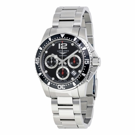 Longines L3.744.4.56.6 Hydroconquest Mens Chronograph Automatic Watch