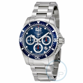 Longines L3.744.4.96.6 HydroConquest Mens Chronograph Automatic Watch