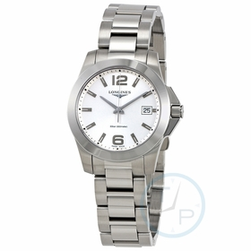 Longines L3.377.4.76.6 Conquest Ladies Quartz Watch