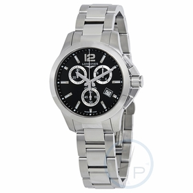Longines L33794566 Conquest Unisex Chronograph Quartz Watch