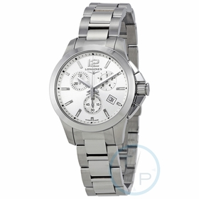 Longines L33794766 Conquest Ladies Chronograph Quartz Watch
