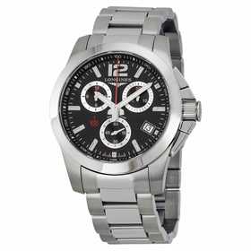 Longines L37004566 Conquest Mens Chronograph Quartz Watch