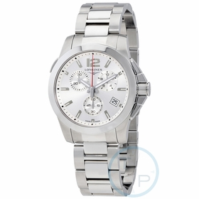 Longines L3.702.4.76.6 Sport Conquest Mens Chronograph Quartz Watch
