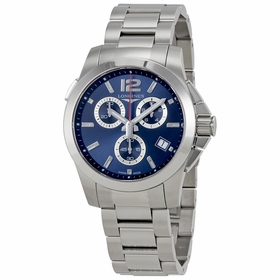 Longines L37024966 Conquest Mens Chronograph Quartz Watch
