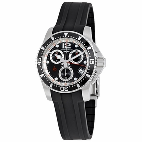 Longines L37434562 HydroConquest Mens Chronograph Quartz Watch