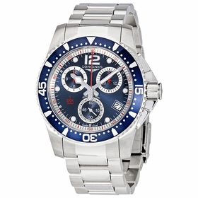Longines L37434966 HydroConquest Mens Chronograph Quartz Watch