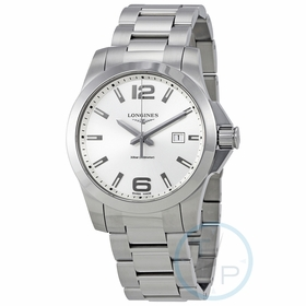 Longines L37604766 Conquest Mens Quartz Watch