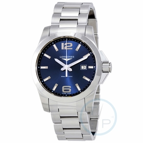 Longines L37604966 Conquest Mens Quartz Watch