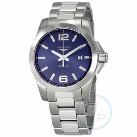 Longines L3.778.4.96.6 Conquest Mens Automatic Watch