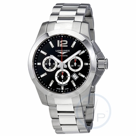 Longines L38014566 Conquest Mens Chronograph Automatic Watch