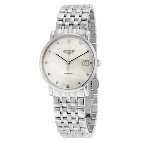 Longines L4.809.4.87.6 Elegant Mens Automatic Watch
