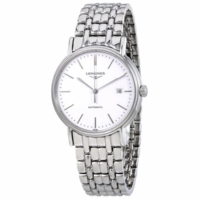 Longines L4.921.4.12.6 Presence Mens Automatic Watch
