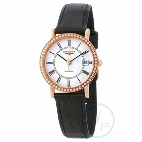 Longines L43789110 Elegant Collection Ladies Automatic Watch