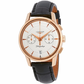 Longines L47568722 Flagship Heritage Mens Chronograph Automatic Watch