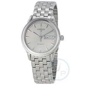 Longines L47994726 Flagship Automatic Day Date Mens Automatic Watch