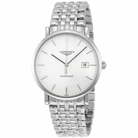 Longines L49104126 Elegant Mens Automatic Watch