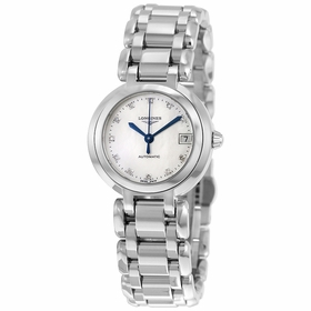 Longines L8.111.4.87.6 PrimaLuna Ladies Automatic Watch