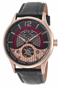 Lucien Piccard LP-15038-RG-01 Transway Mens Automatic Watch