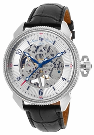 Lucien Piccard LP-40052M-02S Trevi Mens Hand Wind Watch