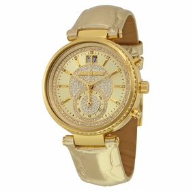 Michael Kors MK2444 Sawyer Ladies Chronograph Quartz Watch