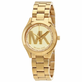 Michael Kors MK3477 Mini Slim Runway Ladies Quartz Watch