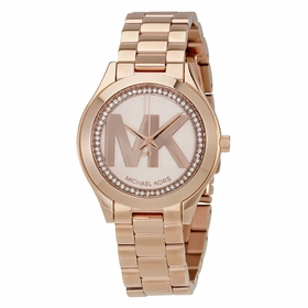 Michael Kors MK3549 Mini Slim Runway Ladies Quartz Watch