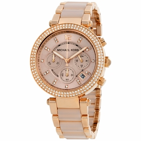Michael Kors MK5896 Parker Ladies Chronograph Quartz Watch