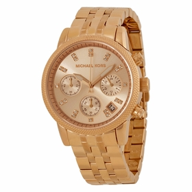 Michael Kors MK6077 Ritz Ladies Chronograph Quartz Watch