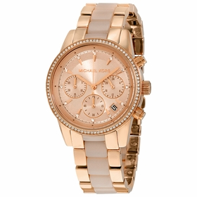 Michael Kors MK6307 Ritz Ladies Chronograph Quartz Watch