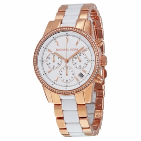 Michael Kors MK6324 Ritz Ladies Chronograph Quartz Watch