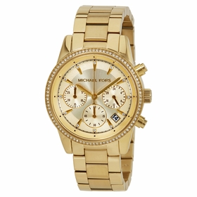 Michael Kors MK6356 Ritz Ladies Chronograph Quartz Watch