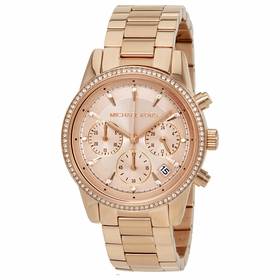Michael Kors MK6357 Ritz Ladies Chronograph Quartz Watch