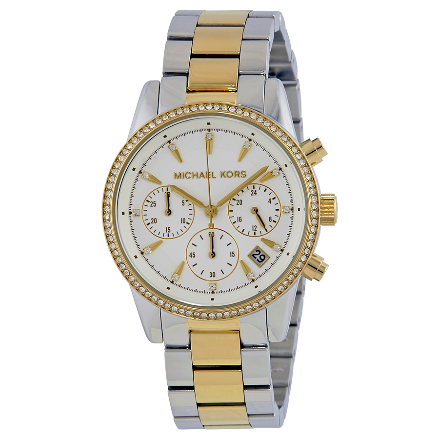 ecf25e6ae Michael Kors MK6474 Ritz Ladies Chronograph Quartz Watch