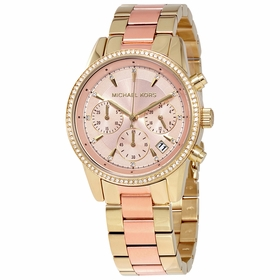 Michael Kors MK6475 Ritz Ladies Chronograph Quartz Watch