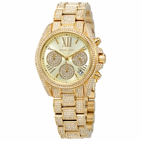 Michael Kors MK6494 Mini Bradshaw Ladies Chronograph Quartz Watch
