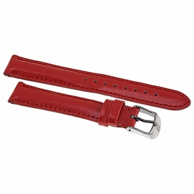 Michele Bright Orange Patent Leather Strap 16AA050820