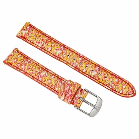 Michele Yellow and Pink Strap MS16AA350702