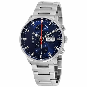 Mido M016.414.11.041.00 Commander II Mens Chronograph Automatic Watch