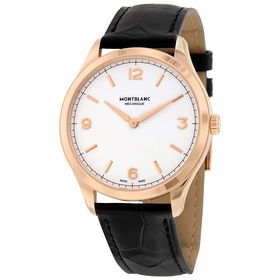MontBlanc 112516 Heritage Chronometrie Mens Hand Wind Watch