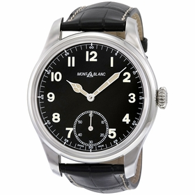 MontBlanc 113860 1858 Mens Hand Wind Watch
