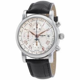 MontBlanc 113880 Star Roman UTC Mens Chronograph Automatic Watch