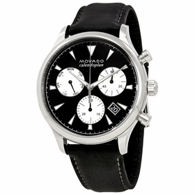 Movado 3650005 Heritage Mens Chronograph Quartz Watch