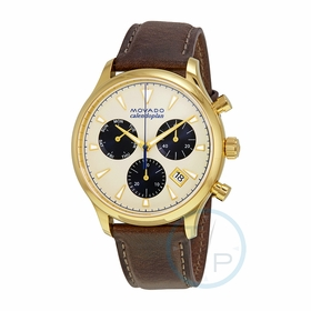 Movado 3650007 Heritage Mens Chronograph Quartz Watch