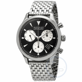 Movado 3650014 Heritage Mens Chronograph Quartz Watch