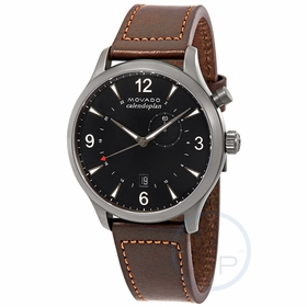 Movado 3650017 Heritage Mens Quartz Watch