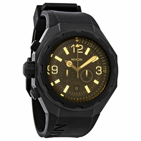 Nixon A3131354 Steelcat Mens Chronograph Quartz Watch
