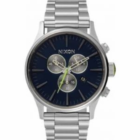 Nixon A3861981 Sentry Mens Chronograph Quartz Watch